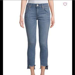 "Hudson 10"" Mid Rise Skinny Jeans"
